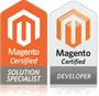 Magento Certified Solution Specialist and Magento Certified Developer