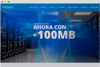 Worktelecom Sitio Web